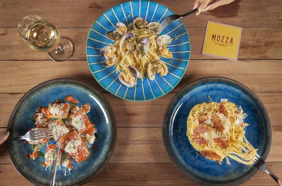 อร่อยจัดเต็มกับหลากเมนู ที่ Mozza By Cocotte