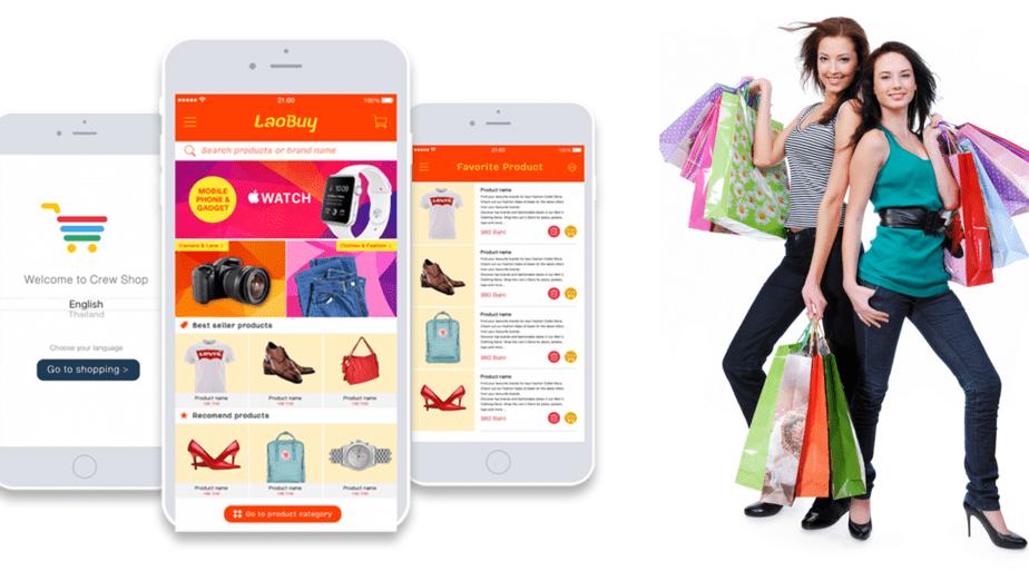 รับทำแอพช้อปปิ้ง Shopping App ราคาถูก